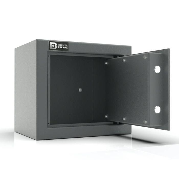 Merkur 25 - Möbeltresor Sicherheitsstufe B - (28 x 31 x 24cm)-Graphitgrau-Doppelbartschloss - 4