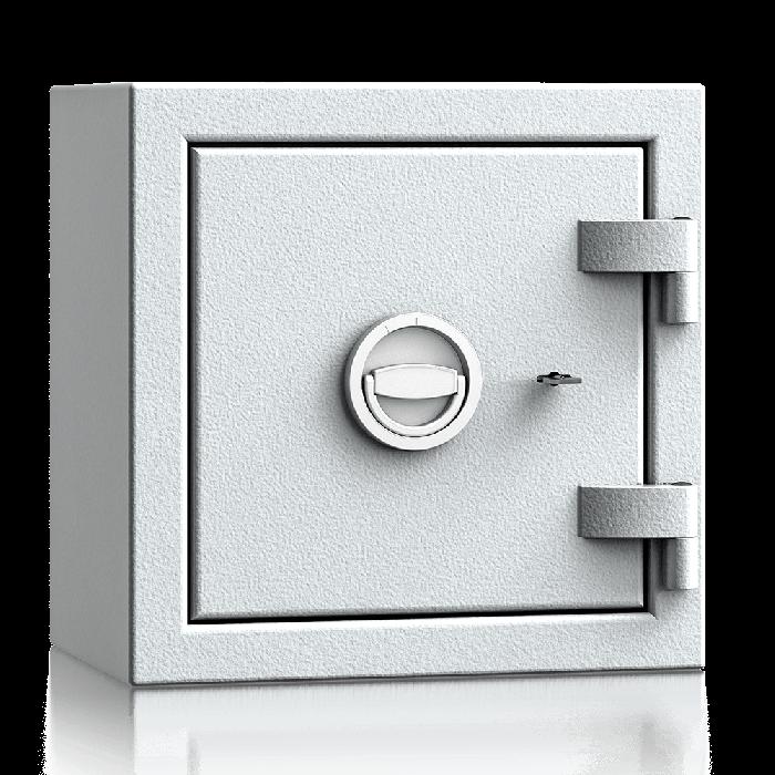 Aton 40S - Tresor Grad 1 (EN1143-1) (EN1143-1) - (40 x 40 x 27cm)-Lichtgrau-Doppelbartschloss - 0