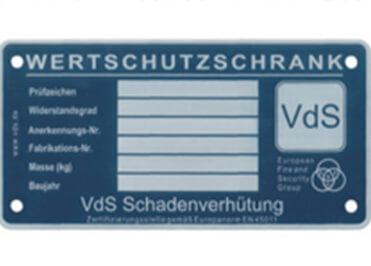VdS-Zertifizierung