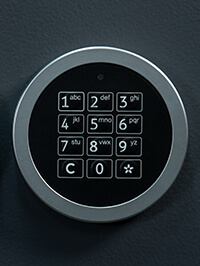 Elektronisches Zahlenschloss