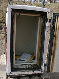 Tresor nach Brandkammer