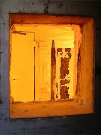 Tresor in Brandkammer